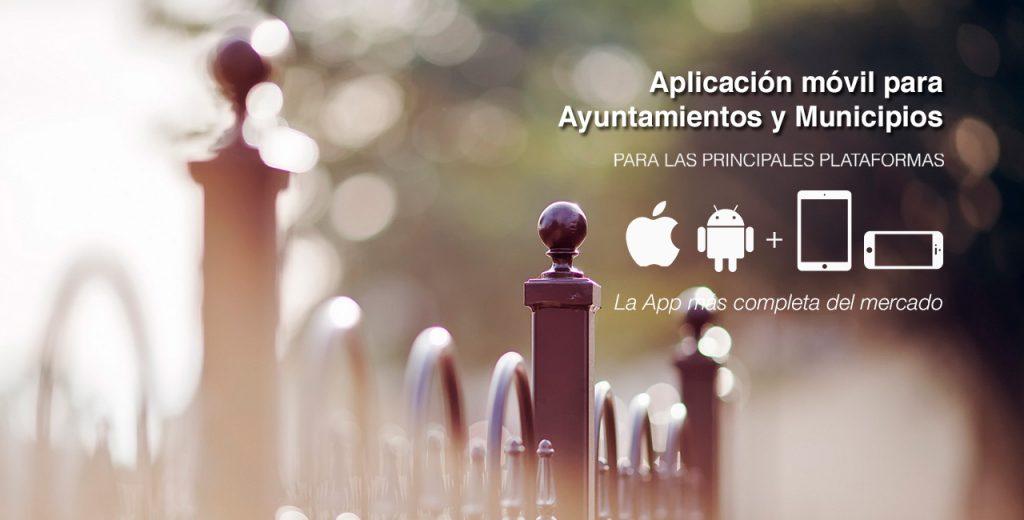 Apps móviles para Ayuntamientos y Municipios
